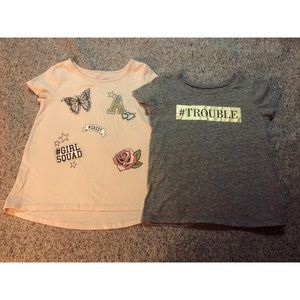 Children's Place Graphic Tops Size 5T